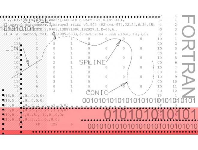 پروژه خواندن فایل IGES حاوی اطلاعات هندسه اجسام هوافضایی با استفاده از نرم افزار فرترن به همراه آموزش نرم افزار فرترن