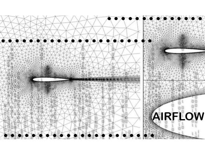 پروژه نرمافزار AirFlow: تحلیل جریان مغشوش دوبعدی با استفاده از مدل (Low Reynolds K-e (Chien