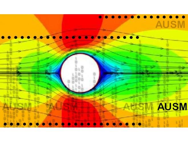 پروژه نرمافزار OMP_AirFlow: تحلیل جریان آرام دوبعدی با گسستهسازی بخش جابجایی AUSM با فرترن